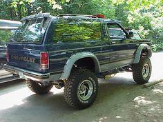 Chevrolet 4x4, Chevrolet Blazer, Chevy Luv, Muscle Truck, Chevy Trailblazer, S10 Blazer, Square Body, Nice Cars, Classic Trucks