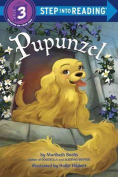 Pupunzel is locked in a tower by a witch but the cocker spaniel puppy and her family are determined to set things right in this twist on Rapunzel.