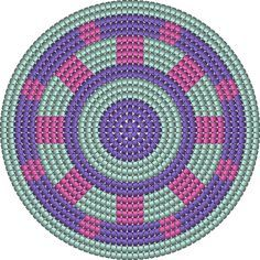 "The location where building and construction meets style, beaded crochet is the act of using beads to decorate crocheted products. ""Crochet"" is derived fro Diy Crochet Patterns, Tapestry Crochet Patterns, Crochet Chart, Filet Crochet, Crochet Stitches, Crochet Projects, Stitch Patterns, Beading Patterns, Mochila Crochet"