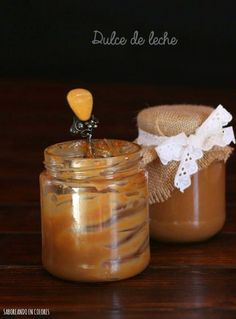 Salsa Dulce, Candle Jars, Jelly, Fondant, Yummy Food, Delicious Recipes, Pudding, Sweets, Cooking