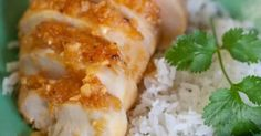 Fabulosa receta para Asado de pollo con salsa de piña al jengibre. Receta de asado de pollo con salsa de piña al jengibre.  Receta participante en el concurso de recetas del mes de diciembre de Frescamp. Autor: Maribel Bernabé
