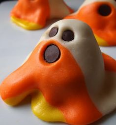 Candy Corn Ghosts