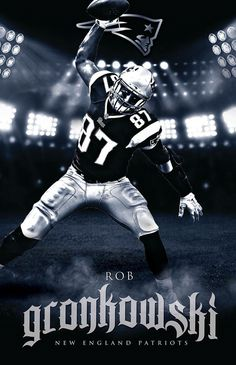 Patriots home page. Rob the Gronk.