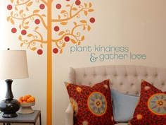 Plant kindness & gather love.  Sprinkle a dash of inspiration anywhere in your house - anywhere you need a lift. A bedroom, a hallway, any corner of the home can speak to you.