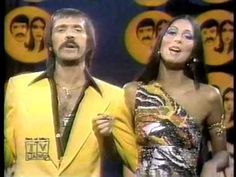 """SONNY & CHER """"Tie A Yellow Ribbon Round The Old Oak Tree"""" - YouTube Tony Orlando And Dawn, Cher Videos, The Cher Show, Cher Photos, Cher Bono, I Got You Babe, 70s Tv Shows, Old Oak Tree, Famous Photos"""