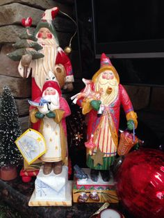 More of my House of Hatten Santa's.