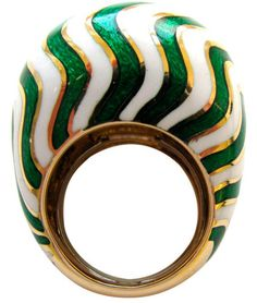 David Webb Cocktail Ring