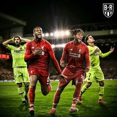 What a incredible match, down to Barca in the leg and then we beat them in the leg at Anfield to go through to the Champions League Final, love them soooooo much 😘