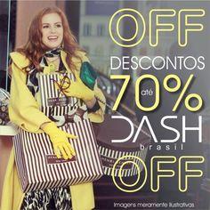 Quer renovar o guarda-roupas com looks exclusivos e economizar ? Liquidação de verão do ateliê DASH brasil com descontos de até 70% off. Chique é economizar com estilo e muita qualidade.