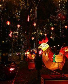Chinese New Year decorations in Singapore #latergram #travelgram #cny #yearoftherooster #wanderlust #sg #vscocam #vscotravel #singapore