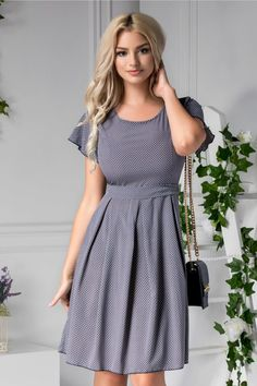 Jade, Iris, Short Sleeve Dresses, Dresses With Sleeves, Cold Shoulder Dress, Casual, Fashion, Moda, Sleeve Dresses