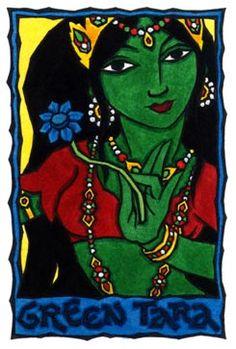 Green Tara, Bodhisattva of Compassion