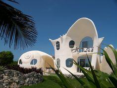 Casa Caracol, Isla Mujeres- México