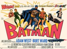 (1966)  The Dynamic Duo faces four super-villains who plan to hold the world for ransom with the help of a secret invention that instantly dehydrates people. Stars: Adam West, Burt Ward, Lee Meriwether