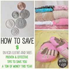 How To Save $$$ On Kids Clothes & Shoes- My system that works! #savemoney #makeabudget #savemoneyonclothes #organizeclothes #kidsclothes #budget #thrifty