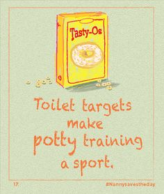 Potty training solved:) #nannysavestheday