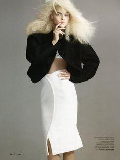 Viktoriya Sasonkina by Chad Pitman for Vogue Russia August 2013 2