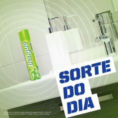 Sorte do dia: chegar na academia, depois de meses parado, e encontrar o #BálsamoBengué na pia do banheiro.