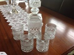 DECANTER AND GLASS SET | Trade Me