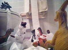 Ouders wekken speelgoeddino's tot leven - HLN.be