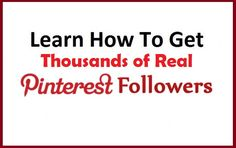 Learn How successful Marketers Get HQ Pinterest Followers https://www.fiverr.com/zacky29/give-350-hq-pinterest-repin-followers-like