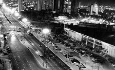 A Av. Faria Lima e o Shopping Iguatemi, em 1970 / acervo Folha