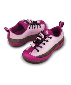 4d5c016aff428 Bubble Gum  amp  Chocolate Dawson Sneaker by  Crocs on  zulily - Can I