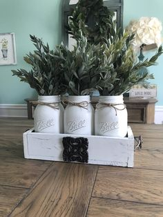 A personal favorite from my Etsy shop https://www.etsy.com/listing/519934342/georgia-home-decor-mason-jar-centerpiece
