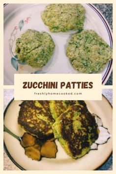 Easy pan fried zucchini patties. Pan Fried Zucchini, Zucchini Fries, Zucchini Patties, My Favorite Food, Favorite Recipes, Summer Squash, Vegetarian Cheese, Guacamole, Easy