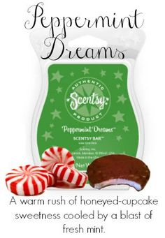Peppermint Dreams. Scentsy makes Perfect Sense! Order Now at http://medens.scentsy.us or contact me for a FREE sample!