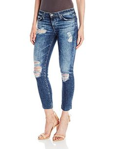 36c2f034f8454 AG Adriano Goldschmied Women s Stilt Crop  A low rise skinny cigarette jean  in cropped length with a raw hem
