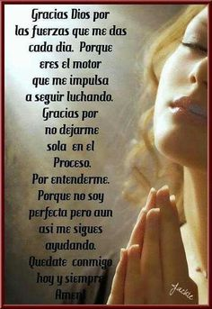 Leticia Muxtay's media content and analytics God Prayer, Prayer Quotes, Faith Quotes, Bible Quotes, Amor Quotes, Bible Verses, Spanish Prayers, Spanish Inspirational Quotes, I Love You God