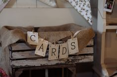 Crate for wedding cards. Rustic wedding decor. East Riddlesden hall barn wedding