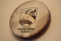 Champlain Dublin. Crest design by graphic design major Nicole Egan '14