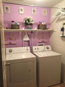 laundry closet with closet rod laundry room ideas pinterest