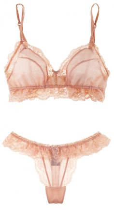 Elle Macpherson Sultry Dreams Soft Cup Bra & Thong