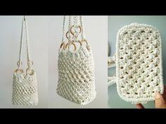 DIY Macrame bag # 8 / Macrame bag # 8 – Famous Last Words Macrame Design, Macrame Art, Macrame Projects, Macrame Knots, Macrame Purse, Diy Sac, Macrame Tutorial, Macrame Patterns, Purses And Bags