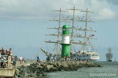 "Tall Ship ""Dar Mlodziezy"" @ Hanse Sail Rostock."