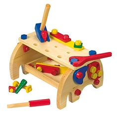 """Workbench """"Elephant"""" from wholesale and import Wooden Baby Toys, Wood Toys, Eco Friendly Toys, Unique Toys, Woodworking Toys, Montessori Toys, Educational Toys, Playroom, Kids Toys"""