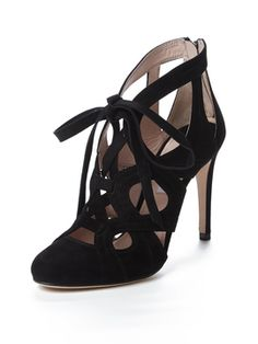 Suede Strappy Lace-Up Sandal from Miu Miu Accessories on Gilt