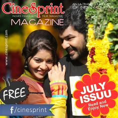 Cinesprint bring the most updated Tamil Film Magazine and Online Cinema Magazine. Cinesprint Online Movie Magazine offering latest Gossips, News, Reviews and celebrity interviews more. Subscribe Cinesprint emagazine for all Tamil Film News. ........http://www.cinesprint.com/emagazine/july/tw/