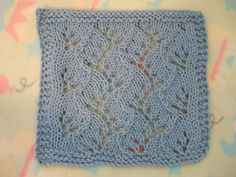 Travelling Vine Cloth ~ smariek knits