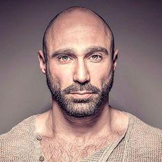 bald goatee look