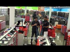 Jono and Ben get Robbie and Tammy to pretend to be employees at the Number One Shoes store and prank the customers. Number One Shoes, Funniest Pranks, Dont Call Me, Winter Sale, Im In Love, Lol, Actors, Funny, Youtube