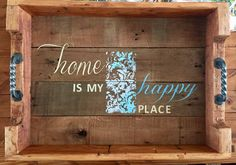 Wood Creations, House In The Woods, My Happy Place, Solid Wood, Etsy Shop, Unique Jewelry, Handmade Gifts, Vintage, Home Decor