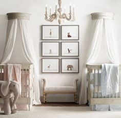 RH Baby & Child's Oversized Wool Felt Elephant:Textural wool felt transforms a classic stuffed toy into an heirloom-quality work of art that also happens to be fun to play with.