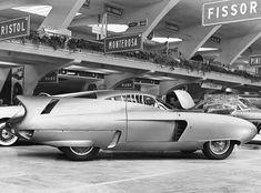 The Alfa Romeo Bat 7 designed by Bertone for Alfa Romeo in 1954.