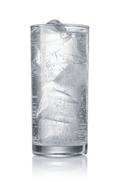 While drinking regular water boosts your metabolism by helping you feel full, ice water can also help you burn large amounts of calories. It takes work for your body to return back to normal temperature after drinking ice water, which burns calories. One study found that drinking two cups of water increased a person's metabolism by 30 percent for over 30 minutes, according to WebMD.
