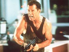 """""""Nine million terrorists in the world and I gotta kill one with feet smaller than my sister."""" (Die Hard)"""