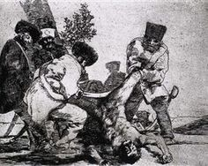 What more can one do? - Francisco Goya   1812-1815
